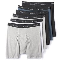 Men's Hanes Classics 5-pack + 1 Bonus Tagless Boxer Briefs