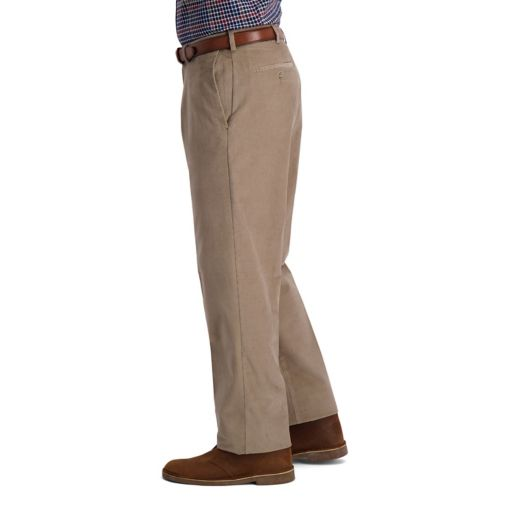 Men's Haggar Classic-Fit Stretch Expandable Waistband Corduroy Pants