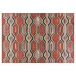 KAS Rugs Vista Illusions Geometric Indoor Outdoor Rug