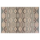 KAS Rugs Vista Groove Geometric Indoor Outdoor Rug