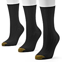 GOLDTOE 3 pkUltrasoft Crew Socks - Women