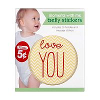 C.R. Gibson Moments With Me Holiday & Message Belly Stickers
