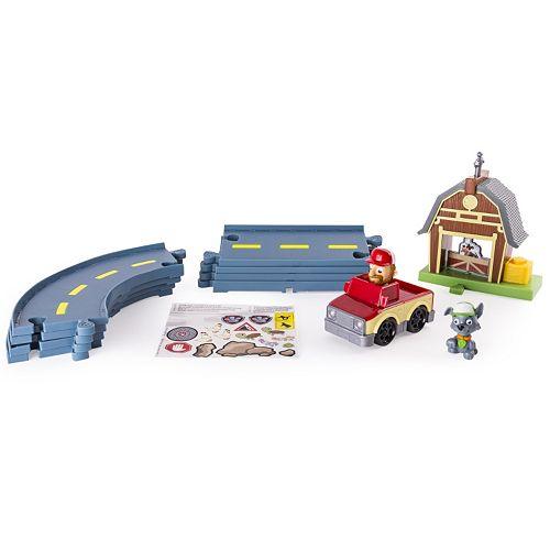 Paw Patrol Rocky's Barn Rescue Track Set