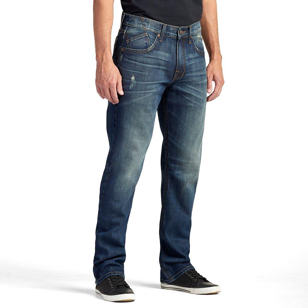 Men's Rock & Republic Rebel Stretch Straight-Leg Jeans