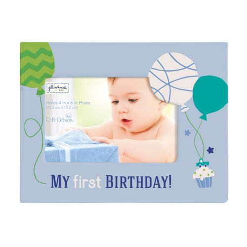C.R. Gibson My First Birthday Picture Frame