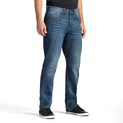 Men's Rock & Republic Blue Streak Stretch Straight-Leg Jeans