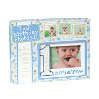 C.R. Gibson First Birthday Photo Kit