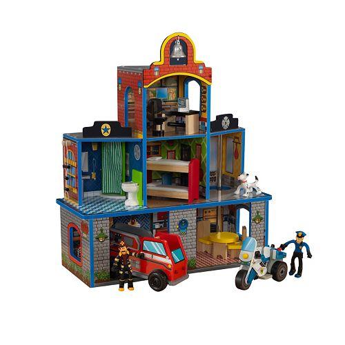 KidKraft Fire Rescue Station Play Set