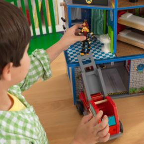 KidKraft Fire Rescue Station Play Set