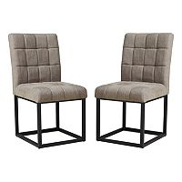 INK+IVY Stellar Dining Chair 2 pc Set