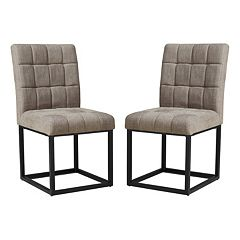 INK+IVY Stellar Dining Chair 2-piece Set