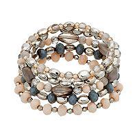 Beaded Stretch Bracelet Set