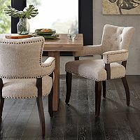 INK+IVY Brooklyn Dining Arm Chair 2 pc Set