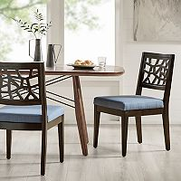 INK+IVY Crackle Dining Chair 2 pc Set
