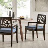 INK+IVY Crackle Arm Chair 2-piece Set