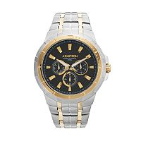 Armitron Men's Two Tone Stainless Steel Watch - 20/5144BKTT