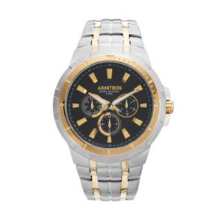 Armitron Men's Two Tone Stainless Steel Watch - 20/5144BKTT