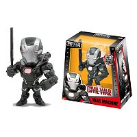 Marvel Captain America: Civil War War Machine Metals 6-Inch Figure