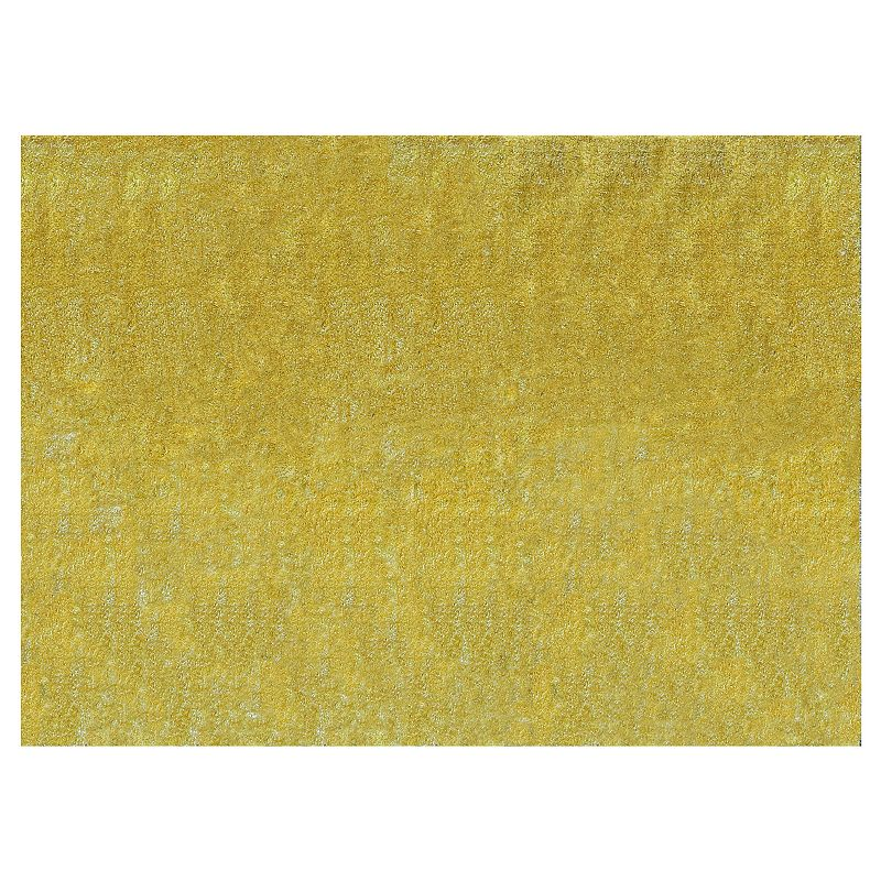 KAS Rugs Key West Indoor Outdoor Shag Rug, Yellow, 3X5 Ft Product Image