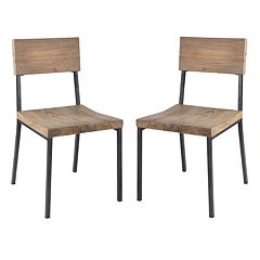 INK+IVY Tacoma Dining Chair 2-piece Set