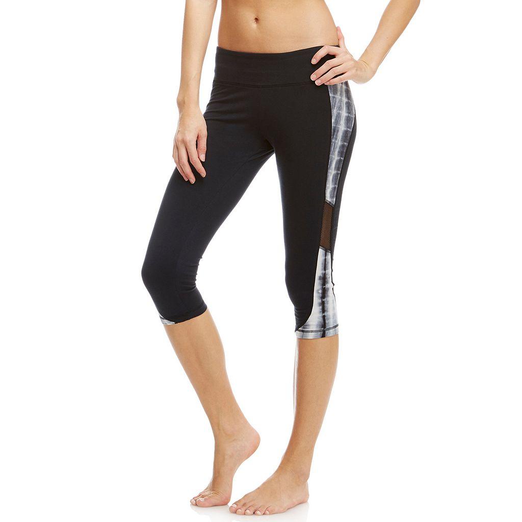 Women's Balance Collection Aria Tie-Dye Capri Yoga Leggings