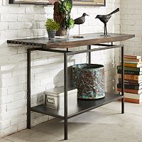 INK+IVY Slat Console Table
