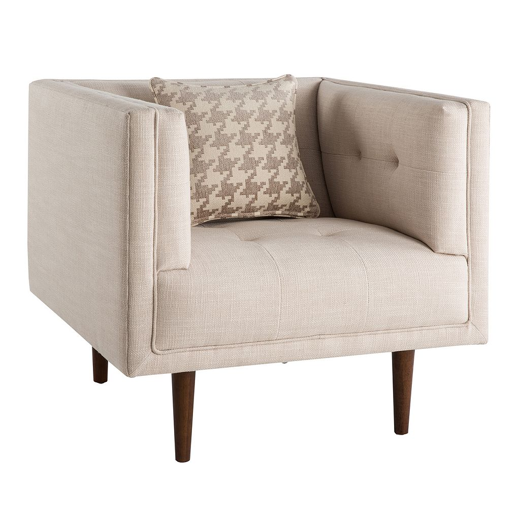 INK+IVY Davis Lounger Arm Chair