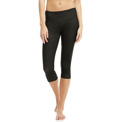 fd189e8167dca Women's Balance Collection Flat Waist Capri Workout Leggings