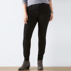 Plus Size SONOMA Goods for Life™ Fay-Faye Denim Skinny Jeans