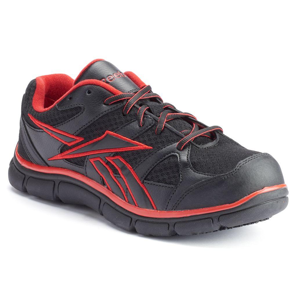 Reebok Work Sport Grip Men's Composite-Toe Shoes