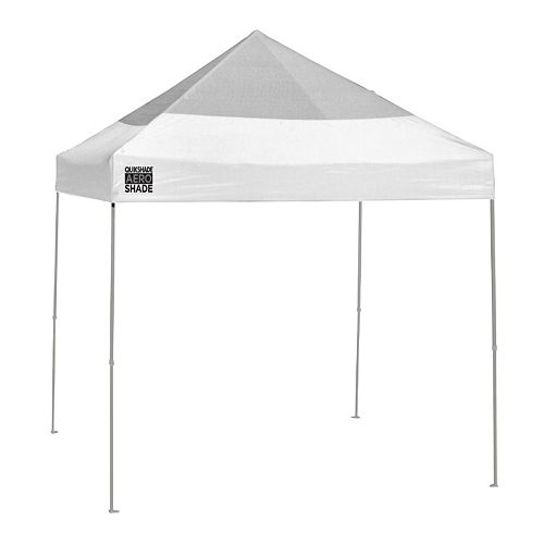 Quik Shade Weekender Elite Aero Shade 10-ft x 10-ft Mesh Instant Canopy Shelter with Shade Cover