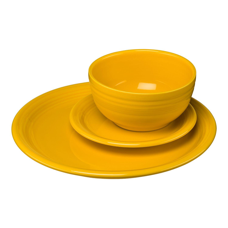 Fiesta Bistro 3-pc. Dinnerware Set  sc 1 st  Kohl\u0027s & Fiesta Dinnerware \u0026 Serveware Kitchen \u0026 Dining   Kohl\u0027s
