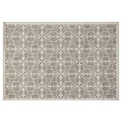 KAS Rugs Lucia Bentley Quatrefoil Indoor Outdoor Rug