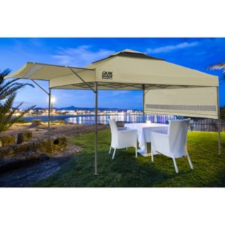 Quik Shade Summit 10' x 10' Instant Canopy Shelter with Half Awnings