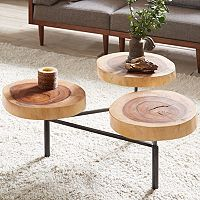 INK+IVY Arcadia Naturale Coffee Table