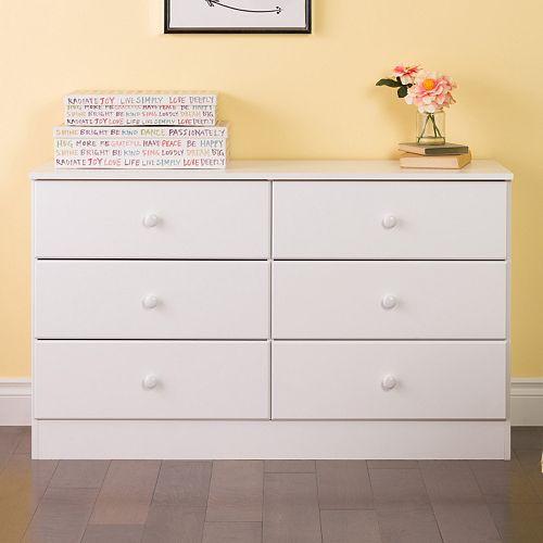 Prepac Astrid 6-Drawer Dresser