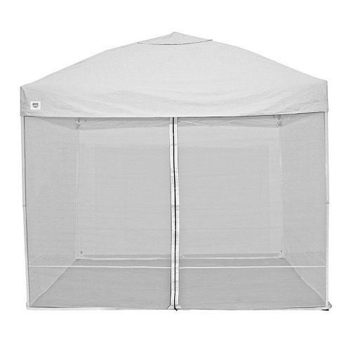 Quik Shade W100 / C100 10' x 10' Canopy Screen Kit