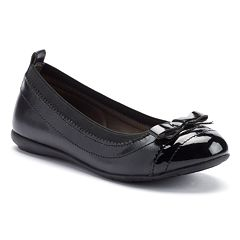 French Toast Dara Girls' Ballet Flats
