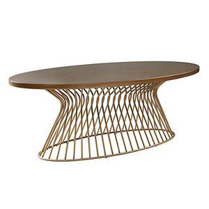 INK+IVY Mercer Mid-Century Modern Coffee Table