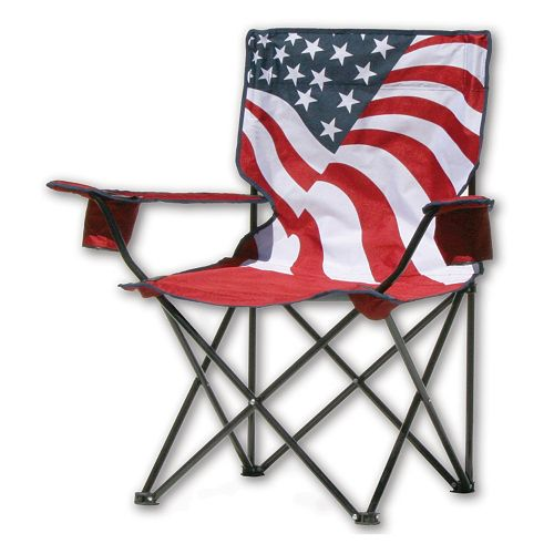 Quik Chair US American Flag Camp Chair