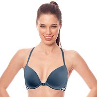 RBX Sports Bras: Microfiber Front-Close Low-Impact Underwire T-Shirt Bra RBX105