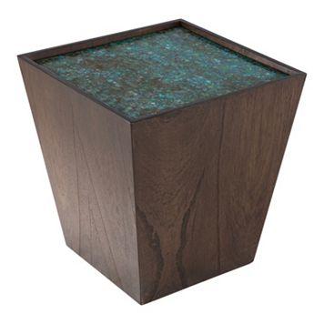 INK+IVY Mozart Mosaic Wooden Storage Cube