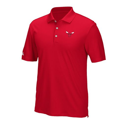 Men's adidas Chicago Bulls climacool Golf Polo