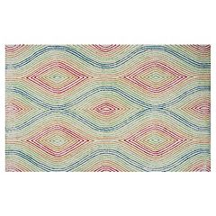 KAS Rugs Donny Osmond Home Escape Vista Geometric Indoor Outdoor Rug