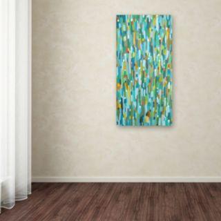 Trademark Fine Art Les Uns Contre Les Autres Canvas Wall Art