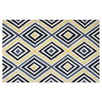 KAS Rugs Donny Osmond Home Escape Dimensions Geometric Indoor Outdoor Rug