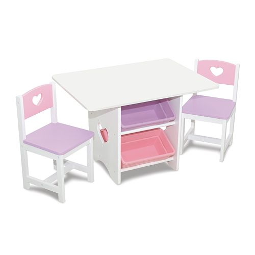 KidKraft Heart Table & Chair Set