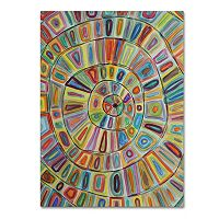 Trademark Fine Art Ma Cible Canvas Wall Art
