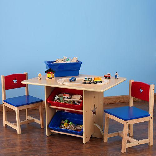 KidKraft Star Table & Chair Set