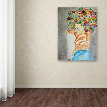 Trademark Fine Art Marion Canvas Wall Art